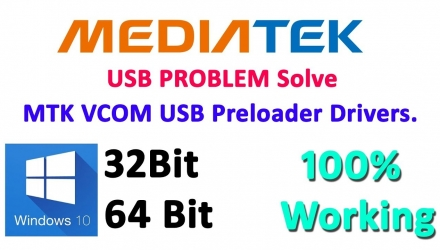 MTK USB VCom Drivers Windows 10 Download Free