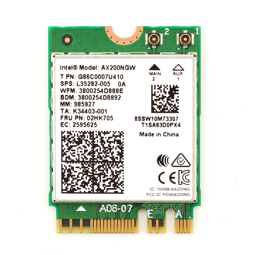 Intel WiFi 6 AX200 Driver Official Latest